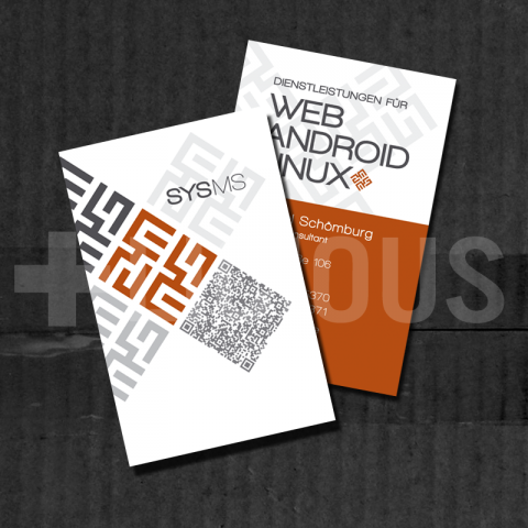 SYSMS | BUSINESS CARDS