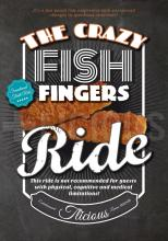 THE CRAZY FISH FINGERS RIDE | POSTER