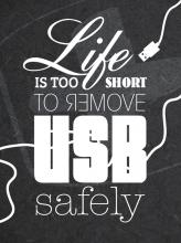 eCard | Life is too short