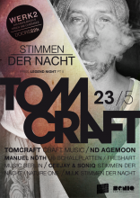 Flyer | Stimmen der Nacht, Legend Night Part II, Tomcraft